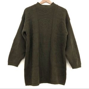 Vintage Hunt Club | Forest Green Chunky Sweater